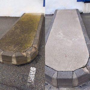 Hydrodécapage trottoir